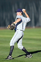 Joseph Scott of the Tri-City Dust Devils in the Northwest League championship game against the Salem-Keizer Volcanoes at Volcanoes Stadium - 9/10/2009..Photo by:  Bill Mitchell/Four Seam Images..