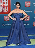 05 November 2018 - Hollywood, California - Sarah Silverman . Disney's &quot;Ralph Breaks the Internet&quot; Los Angeles Premiere held at El Capitan Theater. <br /> CAP/ADM/BT<br /> &copy;BT/ADM/Capital Pictures