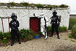 "Stormtroopers on duty at the Fáilte Ireland's first 'May the Fourth Be With You' festival in Portmagee, County Kerry at the weekend.<br /> Photo: Don MacMonagle<br /> <br /> pr photo photo<br /> Further info: lucy.cefai@failteireland.ie<br /> <br /> Press release:<br /> The Fourth Runs Strong in Kerry - Star Wars fans descend on Kerry for Fáilte Ireland's first 'May the Fourth Be With You' festival.<br /> Fáilte Ireland's first 'May the Fourth Be With You' festival wraps up today after three days of events across the Kerry villages of Ballyferriter, Portmagee, Ballinskelligs and Valentia Island. The festival kicked off on Friday, May the 4th (the day when fans across the globe commemorate the Star Wars Universe) and sought to capitalise on the enthusiasm for the galaxy far far way, firmly placing Ireland within that galaxy. The festival included a host of fun activities for all-ages, including visits to Slea Head's beehive huts (Luke Skywalker's hideaway of choice), guided film location walks and children's workshops.<br /> A highlight over the weekend was a special céilí for Star Wars fans which saw costumed dancers take the stage in a great meeting of traditional Irish culture and the Star Wars Universe. Fans also had the opportunity to enjoy outdoor drive-in movie screenings set against the breath-taking backdrop of the west Kerry coast, which featured in the latest movie installation.<br /> Fáilte Ireland captured the excitement in a video which will be used to build on the connection Ireland has with this iconic film universe after recent Star Wars filming took place along the Wild Atlantic Way.<br /> Speaking about the festival, Minister of State for Tourism and Sport, Brendan Griffin said:<br /> ""Since Star Wars included some of our iconic Irish landscapes along the Wild Atlantic Way in recent films, I have been keen to mark May the Fourth in a meaningful way. When appointed as Minister last summer, I approached Fáilte Ireland with this proposal. The inaugural 'May the Fourth Be With You' festival really was a great succes"
