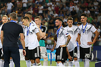Germany coach Stefan Kuntz, Maximilian Eggestein and Marco Richter dejection<br /> Udine 30-06-2019 Stadio Friuli <br /> Football UEFA Under 21 Championship Italy 2019<br /> final<br /> Spain - Germany<br /> Photo Cesare Purini / Insidefoto