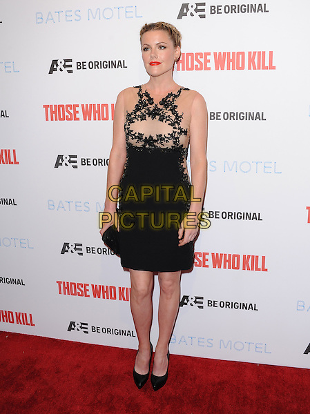 LOS ANGELES, CA - FEBRUARY 26 -Kathleen Robertson attends The Premiere Party for A&amp;E's Those Who Kill and Season 2 of Bates Motel held at Warwick in Hollywood, California on February 26,2014                                                                              <br /> CAP/DVS<br /> &copy;DVS/Capital Pictures