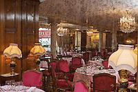 Europe/France/Provence-Alpes-Côte d'Azur/06/Alpes-Maritimes/Nice:  Hôtel: Le Négresco ôtel: Le Négresco- Restaurant: Le  Chantecler- la salle du restaurant