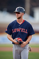 Lowell Spinners Cole Brannen (18) during a game against the Batavia Muckdogs on July 15, 2018 at Dwyer Stadium in Batavia, New York.  Lowell defeated Batavia 6-2.  (Mike Janes/Four Seam Images)
