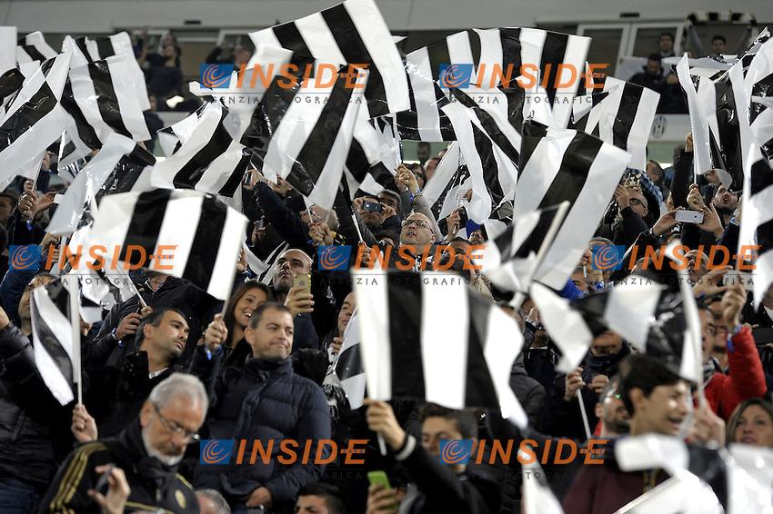 Tifosi Juve, supporters,<br /> Torino 29-10-2016, Juventus Stadium, Football Calcio 2016/2017 Serie A, Juventus - Napoli, Foto Filippo Alfero/Insidefoto