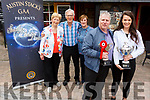 Launching the Austin Stack Strictly Come Dancing outside the Brogue Inn on Monday.<br /> Front l to r: Kevin Cotter and Norma O&rsquo;Connor.  <br /> Back l-r, Mairead Fernane, Aidan O&rsquo;Connor and Fiona Cotter.