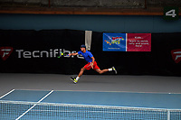 Kiranpal Pannu. 2019 Wellington Tennis Open at Renouf Centre in Wellington, New Zealand on Saturday, 21 December 2019. Photo: Dave Lintott / lintottphoto.co.nz