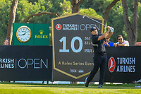 Patrick Reed (USA) during the third round of the Turkish Airlines Open, Montgomerie Maxx Royal Golf Club, Belek, Turkey. 09/11/2019<br /> Picture: Golffile | Phil INGLIS<br /> <br /> <br /> All photo usage must carry mandatory copyright credit (© Golffile | Phil INGLIS)