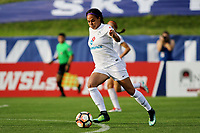 Piscataway, NJ - Saturday July 8, 2017: Game action during a regular season National Women's Soccer League (NWSL) match between Sky Blue FC and FC Kansas City at Yurcak Field.
