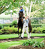 Ridley Creek Road with Paul Madden before The International Gentleman Fegentri Race at Delaware Park on 9/8/12