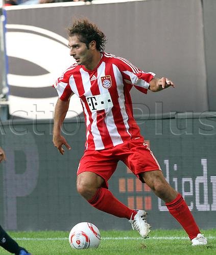 07.08.2010: VFL Supercup, Bayern Munich v Schalke 04. Hamit Altintop Bayern Munich