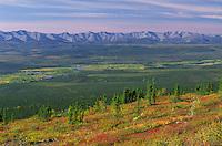 Ogilvie Range, Dempster Highway, Yukon.
