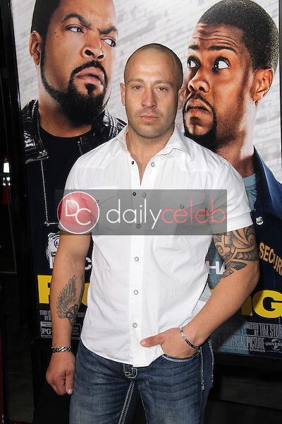 """Aaron Saxton<br /> at the """"Ride Along"""" World Premiere, TCL Chinese Theater, Hollywood, CA 01-13-14<br /> David Edwards/DailyCeleb.com 818-249-4998"""
