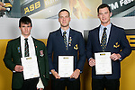 Boys Rowing finalists Ignus Ferreira, Geoff Cornell & Michael Arms. ASB College Sport Young Sportperson of the Year Awards 2007 held at Eden Park on November 15th, 2007.