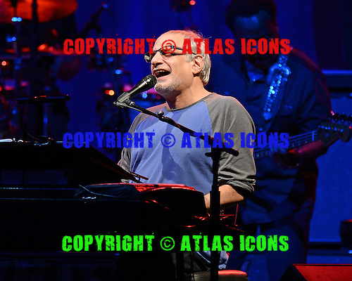 WEST PALM BEACH, FL - JUNE 29: Donald Fagen of Steely Dan performs at The Perfect Vodka Amphitheater on June 29, 2016 in West Palm Beach Florida. Credit Larry Marano © 2016