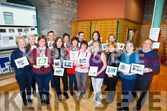 Members of the Castleisland Camera club who did a major fund raiser for the Glebe Lodge by holding a Photo Exhibit and Coffee morning on Saturday moring last in Castleisland.