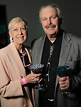 Chris Silkwood and Gary Milnarich at Martini Madness at the Center for Contemporary Craft Thursday Jan. 22,2015.(Dave Rossman For the Chronicle)