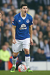 Gareth Barry of Everton reacts during the Emirates FA Cup match at Goodison Park. Photo credit should read: Philip Oldham/Sportimage