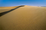 Sand dunes in the Sahara Desert of northern Chad.