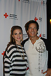 Hosts One Life To Live Gina Tognoni and Bradley Cole at the 7th Annual Rock Show For Charity hosted by Kristen Alderson and Gina Tognoni and Bradley Cole to benefit American Red Cross - disaster relief efforts in Japan on October 8, 2011 at the SoHo Playhouse, New York City, New York. (Photo by Sue Coflin/Max Photos)