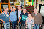 Liverpool legend Ian Rush with the locals in the Speakeasy bar Killarney on Monday evening included are John O'Connor, Aidan Ryan, Stephen McCarthy, Dermot O'Leary, Brendan and Kathleen Douglas, Brendan O'Leary