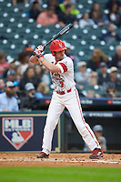 O'Neal Lochridge (7) of the Louisiana Ragin' Cajuns at bat against the Vanderbilt Commodores in game five of the 2018 Shriners Hospitals for Children College Classic at Minute Maid Park on March 3, 2018 in Houston, Texas.  The Ragin' Cajuns defeated the Commodores 3-0.  (Brian Westerholt/Four Seam Images)