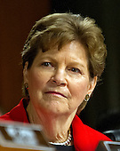 United States Senator Jeanne Shaheen (Democrat of New Hampshire), a member of the US Senate Committee on Foreign Relations, at the hearing considering the nomination of Rex Wayne Tillerson, former chairman and chief executive officer of ExxonMobil to be Secretary of State of the US on Capitol Hill in Washington, DC on Wednesday, January 11, 2017.<br /> Credit: Ron Sachs / CNP