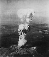 August 1945 - the US air force drop the atomic bomb on Hiroshima