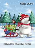 Roger, CHRISTMAS ANIMALS, WEIHNACHTEN TIERE, NAVIDAD ANIMALES, paintings+++++,GBRM2200,#xa#