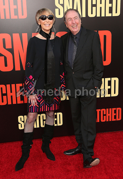"""10 May 2017 - Westwood, California - Eric Idle, Tania Kosevich. """"Snatched"""" World Premiere held at the Regency Village Theatre. Photo Credit: AdMedia"""