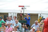 KAATSEN: BOLSWARD: 13-07-2014, Winnaars Jan Dirk de Groot, Hans Wassenaar (koning) en Dylan Drent, ©foto Martin de Jong