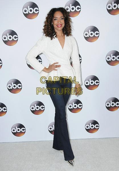 10 January 2017 - Pasadena, California - Gina Torres. Disney ABC Television Group TCA Winter Press Tour 2017 held at the Langham Huntington Hotel. <br /> CAP/ADM/BT<br /> &copy;BT/ADM/Capital Pictures