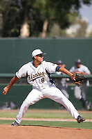 June 5, 2010: Brett Weibley of Kent State during NCAA Regional game against UC Irvine at Jackie Robinson Stadium in Los Angeles,CA.  Photo by Larry Goren/Four Seam Images