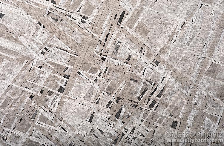 Widmanstaumltten Pattern In Nickeliron Meteorite Mark Steinmetz Beauteous Widmanstatten Pattern