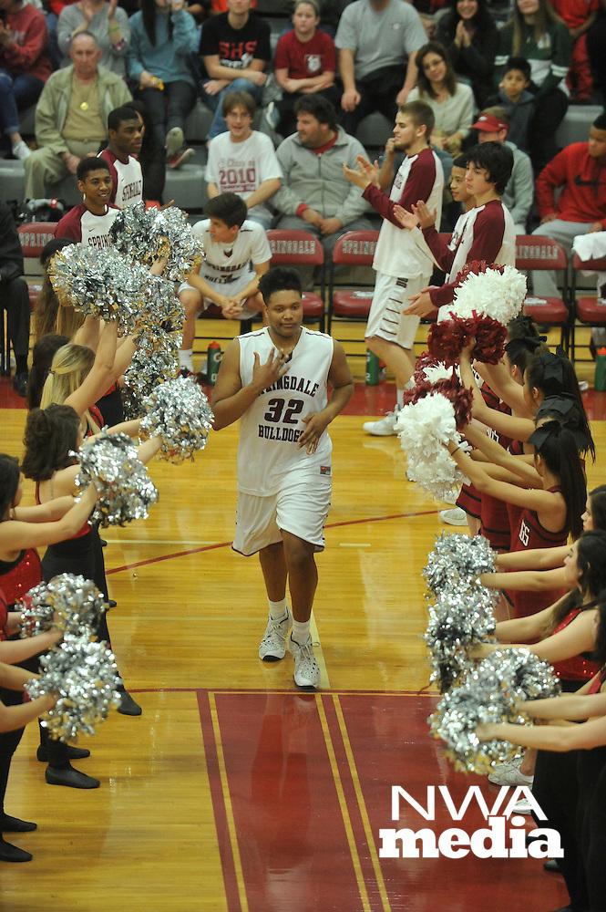 NWA Democrat-Gazette/MICHAEL WOODS • @NWAMICHAELW<br /> Bentonville High School vs Springdale High School February 16, 2016 at Springdale High School.