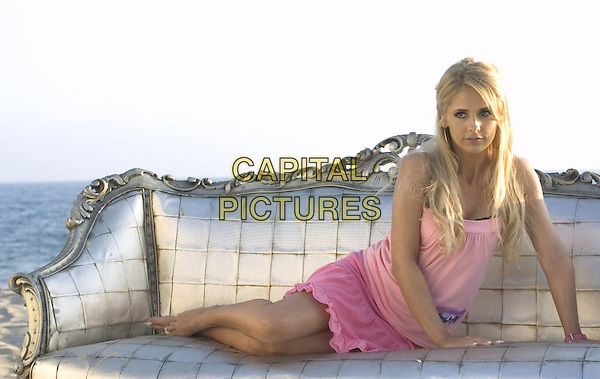 Sarah Michelle Gellar<br /> in Southland Tales (2006) <br /> *Filmstill - Editorial Use Only*<br /> CAP/NFS<br /> Image supplied by Capital Pictures