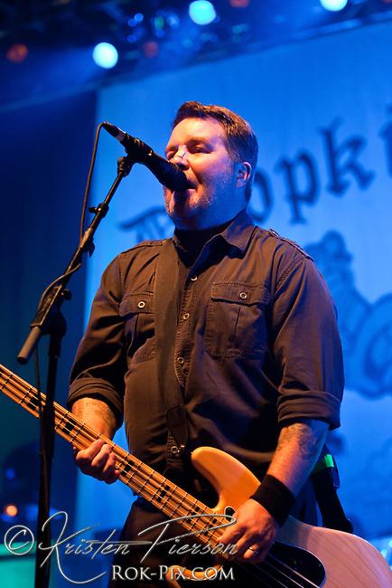 BOSTON, MA - SEPTEMBER 21: Dropkick Murphys perform on September 21, 2012 at Bank of America Pavilion in Boston, Massachusetts