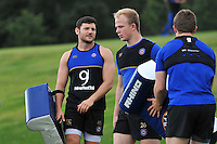 Jeff Williams of Bath Rugby looks on. Bath Rugby training session on August 4, 2015 at Farleigh House in Bath, England. Photo by: Patrick Khachfe / Onside Images