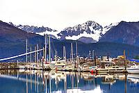 Alaska's Seward Harbor