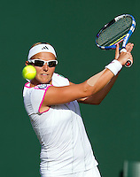 21-06-11, Tennis, England, Wimbledon, Flipkens