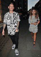 Lewi Morgan and Ella Eyre at the Maison Makarem LFW s/s 2017 presentation &amp; champagne reception, The Ritz Hotel, Piccadilly, London, England, UK, on Friday 16 September 2016.<br /> CAP/CAN<br /> &copy;CAN/Capital Pictures /MediaPunch ***NORTH AND SOUTH AMERICAS ONLY***