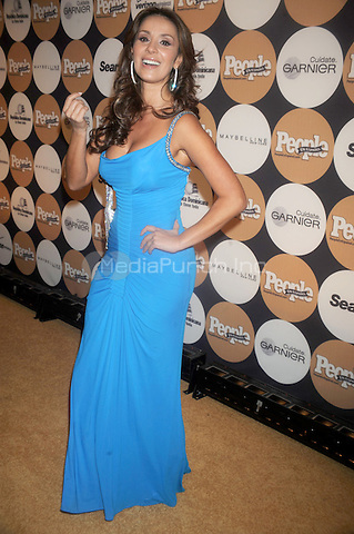 "Catherine Siachoque at People En Espanol's ""50 Most Beautiful"" Gala at The Edison Ballroom in New York City. May 13, 2009. Credit: Dennis Van Tine/MediaPunch"