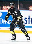 Stockholm 2014-10-14 Ishockey Hockeyallsvenskan AIK - Malm&ouml; Redhawks :  <br /> AIK:s Yared Hagos <br /> (Foto: Kenta J&ouml;nsson) Nyckelord:  AIK Gnaget Hockeyallsvenskan Allsvenskan Hovet Johanneshov Isstadion Malm&ouml; Redhawks portr&auml;tt portrait