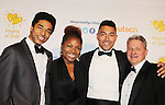 - The 20th Annual Hearts of Gold Gala - All That Glitters - A Black Tie Ball - with founder and president Deborah Koenigsberger and her husband Thilio, and sons Stephan and Florian on October 27, 2016 at Capitale, New York City, New York.  (Photo by Sue Coflin/Max Photos)