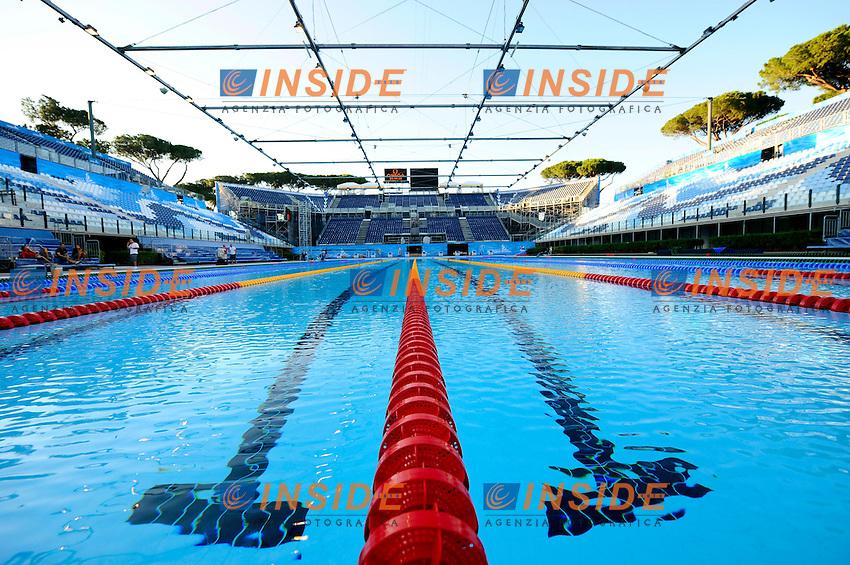 Swimming Pool - Piscina Nuoto.Roma 12/7/2009 Foro Italico.Roma 2009 Championships .Campionati Mondiali di Nuoto.Foto Andrea Staccioli/Roma2009.com/Insidefoto