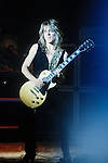 Randy Rhoads of Ozzy Osbourne's Blizzard of Oz performing live at The Palladium , N.Y. May 1981 Randy Rhoads