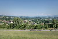 scenic peloton<br /> <br /> stage 7: Aoste &gt; Alpe d'Huez (168km)<br /> 69th Crit&eacute;rium du Dauphin&eacute; 2017