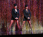 Amra-Faye Wright with Mel B during their Curtain Call Bows in Broadway's 'Chicago' at  the Ambassador Theatre in New York City.