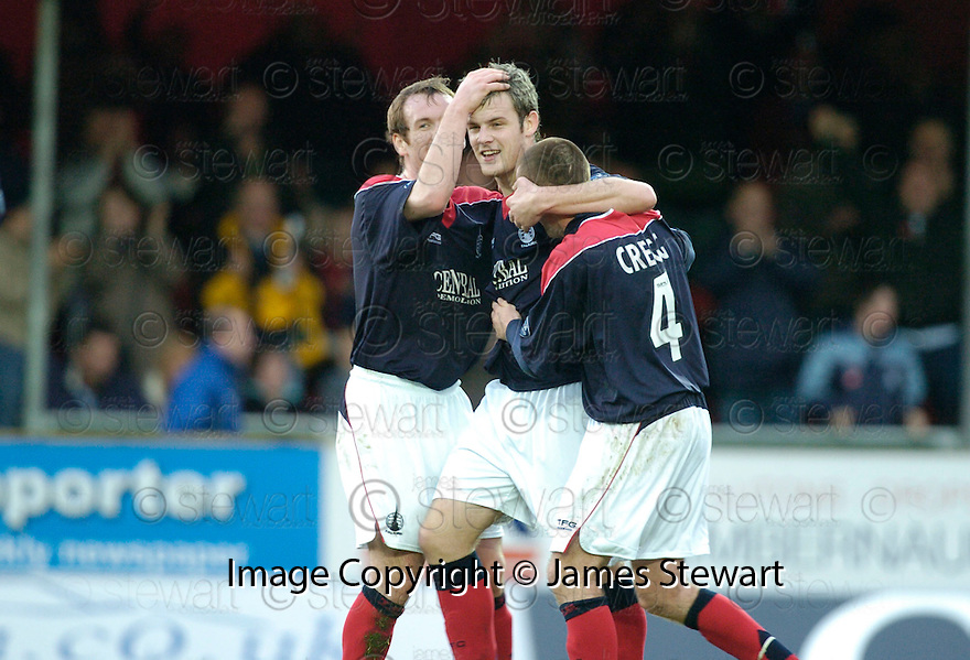 28/10/2006       Copyright Pic: James Stewart.File Name :sct_jspa04_falkirk_v_dundee_utd.ANTHONY STOKES CELEBRATES FALKIRK'S SECOND.James Stewart Photo Agency 19 Carronlea Drive, Falkirk. FK2 8DN      Vat Reg No. 607 6932 25.Office     : +44 (0)1324 570906     .Mobile   : +44 (0)7721 416997.Fax         : +44 (0)1324 570906.E-mail  :  jim@jspa.co.uk.If you require further information then contact Jim Stewart on any of the numbers above.........