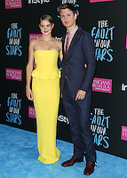 NEW YORK CITY, NY, USA - JUNE 02: Shailene Woodley, Ansel Elgort at the New York Premiere Of 'The Fault In Our Stars' held at Ziegfeld Theatre on June 2, 2014 in New York City, New York, United States. (Photo by Jeffery Duran/Celebrity Monitor)