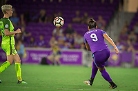 Orlando, FL - Thursday September 07, 2017: Camila Martins Pereira during a regular season National Women's Soccer League (NWSL) match between the Orlando Pride and the Seattle Reign FC at Orlando City Stadium.